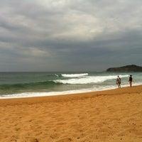Photo taken at Mona Vale Beach by Caroline M. on 12/15/2012