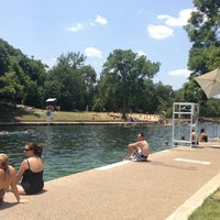 Photo taken at Barton Springs Pool by Martha T. on 7/3/2013