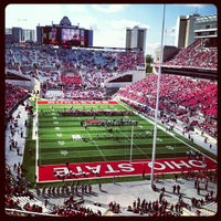 Photo taken at Ohio Stadium by Jeremy S. on 9/22/2012
