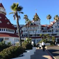 Photo taken at Hotel del Coronado by Jeff M. on 1/19/2013