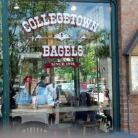 Photo taken at Collegetown Bagels by helen d. on 6/9/2013