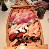 Photo taken at Sushi Island by Susan G. on 12/15/2012