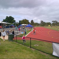 Photo taken at Newport Park Athletics Track by Erwin v. on 11/29/2013