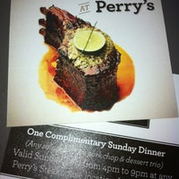 Photo taken at Perry's Steakhouse and Grille by Stacey F. on 2/7/2013