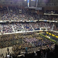 Photo taken at Richmond Coliseum by Virginia C. on 5/11/2013