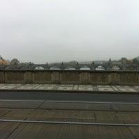 Photo taken at Mánesův most by Alexander on 10/21/2012