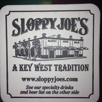 Photo taken at Sloppy Joe's Bar by ALMA T. on 7/6/2013