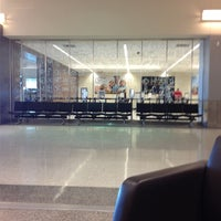 Photo taken at Rick Husband Amarillo International Airport (AMA) by Jeff M. on 11/9/2012