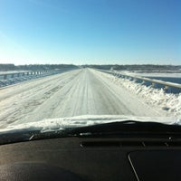 Photo taken at Mile Long Bridge by Mike V. on 12/21/2012
