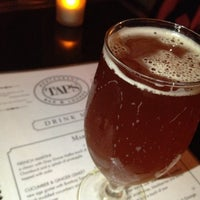 Photo taken at Taps Wine & Beer Eatery by Amit M. on 4/27/2013