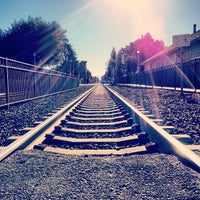 Photo taken at Menlo Park Caltrain Station by Jose K. on 1/30/2013