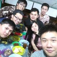 Photo taken at Nusa Jaya Pecal Lele by Jana A. on 1/25/2014