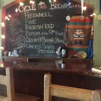 Photo taken at Peg's Cantina & Brew Pub by Danny W. on 7/24/2013