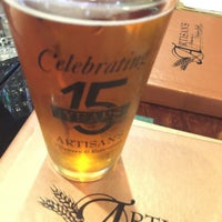 Photo taken at Artisan's Brewery and Italian Grill by Marc E. on 10/16/2016