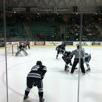 Photo taken at Thompson Arena at Dartmouth by Nicole M. on 11/3/2012