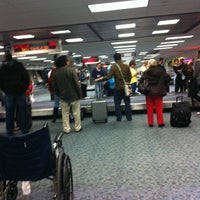 Photo taken at Baggage Claim by Brian B. on 12/2/2012