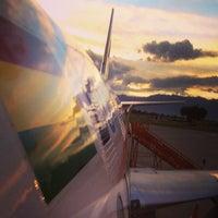 Photo taken at Viru Viru International Airport (VVI) by Kirsten G. on 3/25/2013