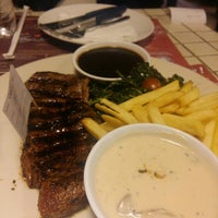 Photo taken at SteakHotel by Holycow! by Sarah G. on 4/27/2016