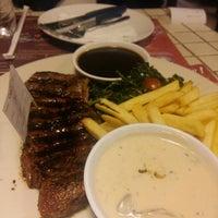 Photo taken at Steak Hotel by Holycow! TKP Radal by Sarah G. on 4/27/2016