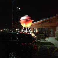 Photo taken at Weber Grill Restaurant by Carol L. on 11/2/2012