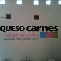 Photo taken at Queso Carnes Felipe Angeles by Frida C. on 1/25/2013