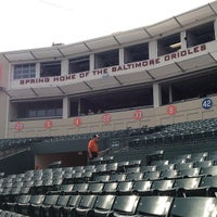 Photo taken at Ed Smith Stadium by Mike P. on 2/28/2013