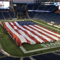 Photo taken at Gillette Stadium by Mike P. on 11/24/2013