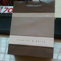 Photo taken at Charles & Keith by rutNonon Y. on 1/22/2013