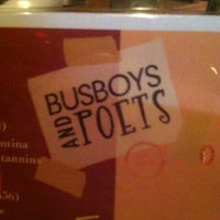 Photo taken at Busboys and Poets by Stacy G. on 12/29/2012