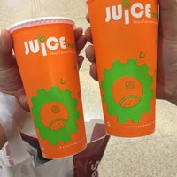 Photo taken at Juice Works by Aisyah K. on 4/4/2016