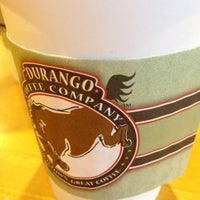 Photo taken at Durango Coffee Company by Shelby M. on 12/17/2012