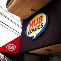 Photo taken at Hub Comics by Sujei L. on 5/3/2014