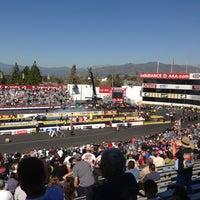 Photo taken at AAA Auto Club Raceway by Jason C. on 2/17/2013