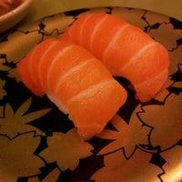 Photo taken at Sushi Kiosk! by Sushi Tei by imeldine p. on 1/13/2013