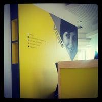 Photo taken at Raiffeisenbank by Daniel D. on 10/8/2012