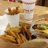 Photo taken at Five Guys by David S. on 12/11/2012