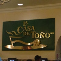 Photo taken at La Casa de Toño by tONy G. on 6/17/2013