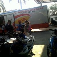 Photo taken at Gerbang Tol Cibitung by Anna A. on 9/1/2013
