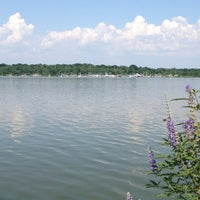 Photo taken at White Rock Lake by Kat T. on 7/4/2013