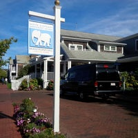 Photo taken at The Brant Point Grill at The White Elephant Hotel by Derek S. on 9/23/2014