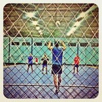 Photo taken at YPKP Indoor Soccer Center by Andri A. on 2/17/2013