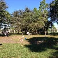 Photo taken at Estero Community Park Dog Run by Sal C. on 11/3/2012