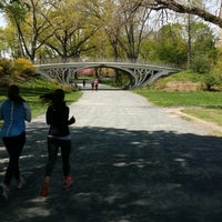 Photo taken at Central Park - Gothic Bridge by Olha S. on 5/7/2014