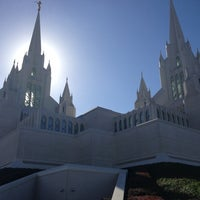 Photo taken at San Diego California Temple by Adam B. on 12/29/2012