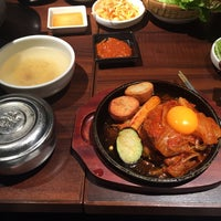 Photo taken at 長寿韓酒房 新浦安店 by 1048 on 7/1/2015