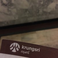 Photo taken at ธนาคารกรุงศรีอยุธยา (KRUNGSRI) by Siwakorn P. on 4/27/2016
