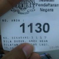 Photo taken at Jabatan Pendaftaran Negara JPN by Hazriq A. on 10/29/2012