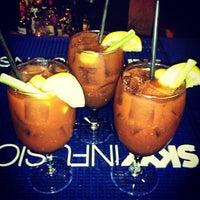 Photo taken at Blue Tapas Bar & Cocktail Lounge by Filip R. on 1/1/2013