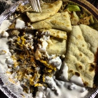 Photo taken at The Halal Guys by Sheila R. on 5/8/2013