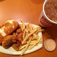 Photo taken at Raising Cane's Chicken Fingers by Desiree C. on 2/22/2013